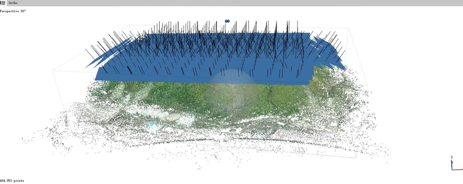 无人机倾斜摄影吉林电力输电线路规划
